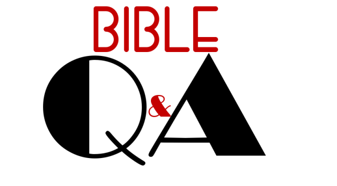 Bible Q&A – Non-Created Things?
