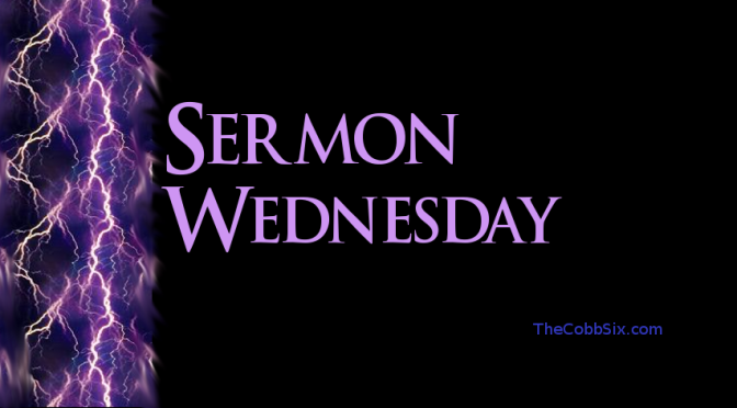 Sermon Wednesday – All Hail the Power of Jesus' Name