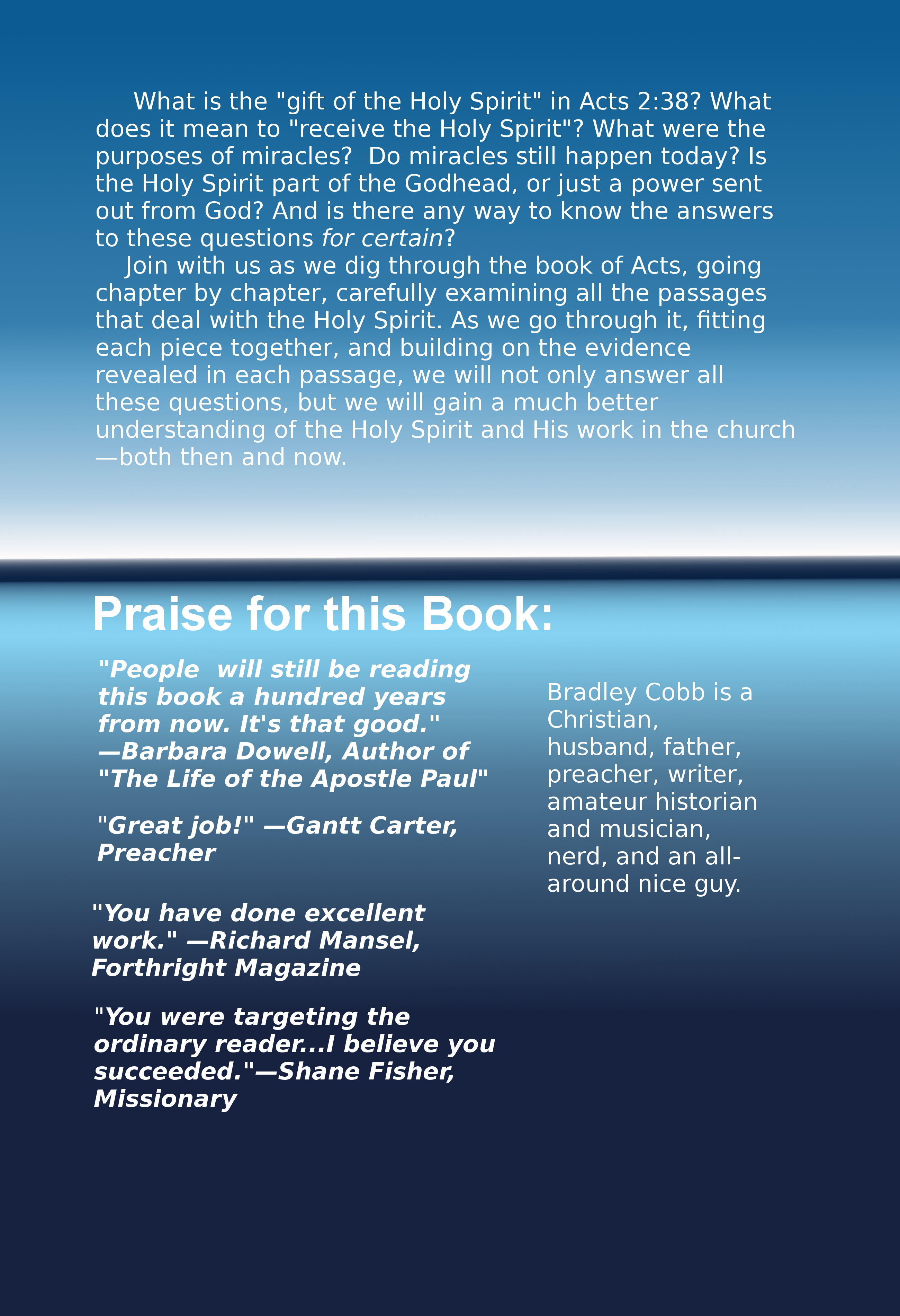 The holy spirit in the book of acts ebook the cobb six the fandeluxe Image collections