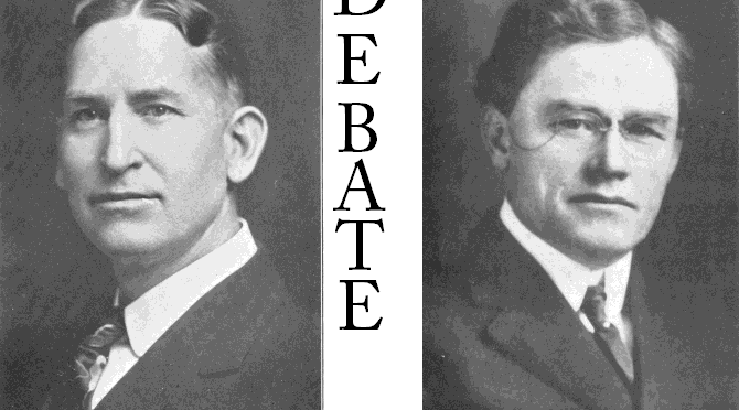 The N.B. Hardeman – Ira Boswell Debate on Instrumental Music
