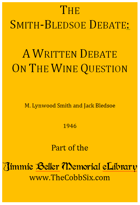 Smith-Bledsoe-Debate